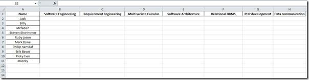 form datasheet