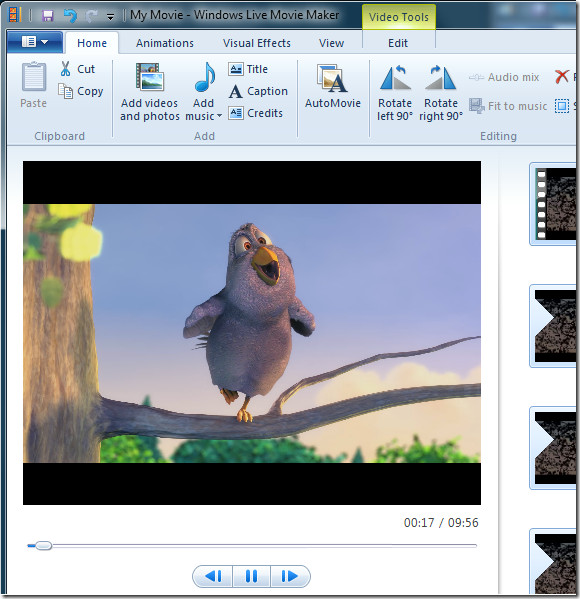 live movie maker videos from network