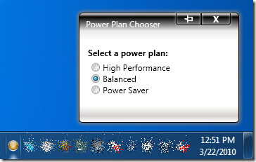Power Plan Chooser