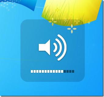 Volume Control Indicator