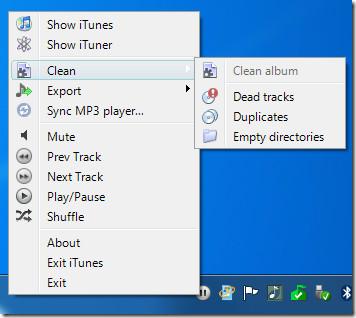 clean itunes album tracks duplicates