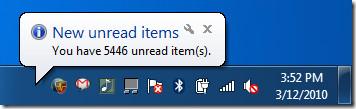 google reader unread items desktop