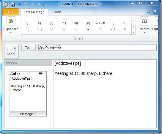 send message 1