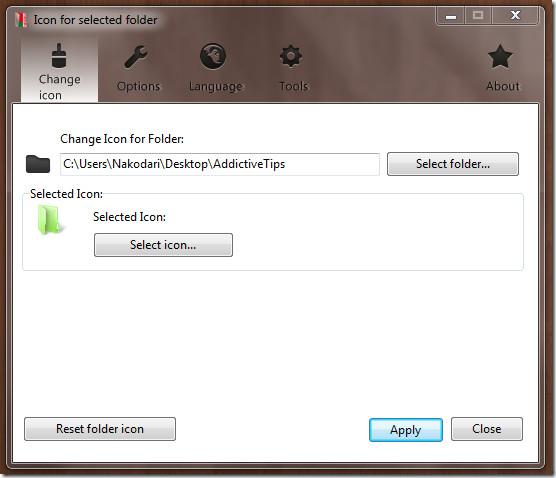 Change Windows icon