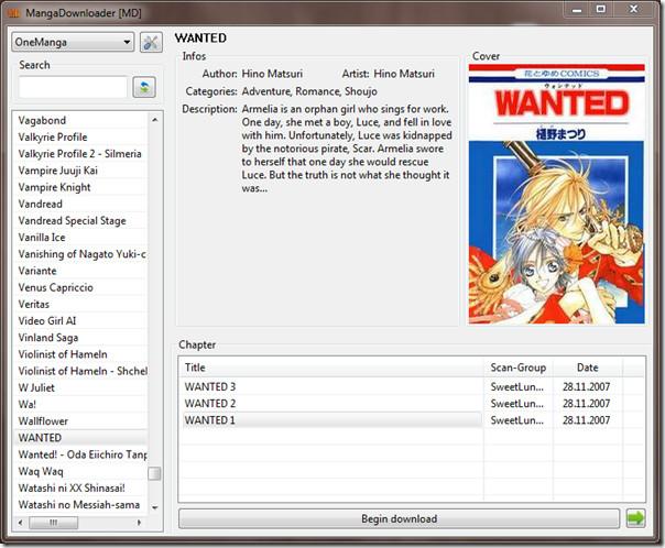 Manga Downloader