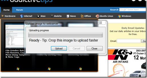ScreenCatch Upload