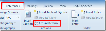 cross reference 1