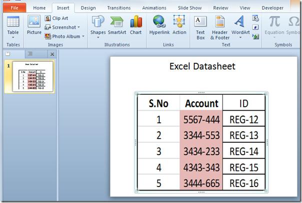 excel spreadsheet filled