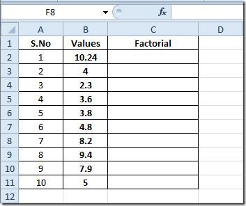 factorial