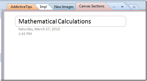 mathematical calc