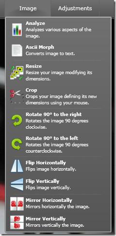 image online editing