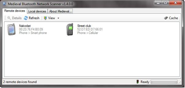 Bluetooth Network Scanner
