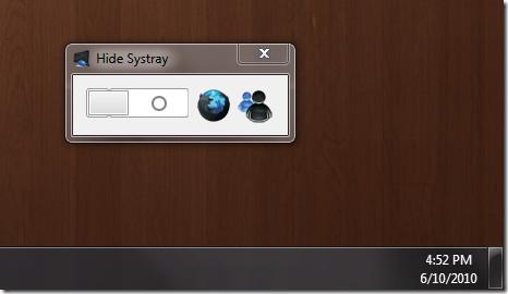 Hide Systray
