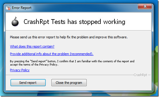 crashrpt