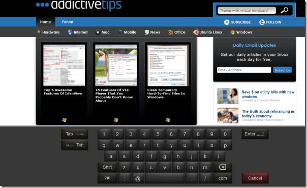 kylo virtual keyboard