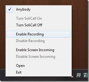 solicall recording