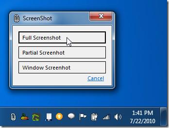 Clippy screenshot