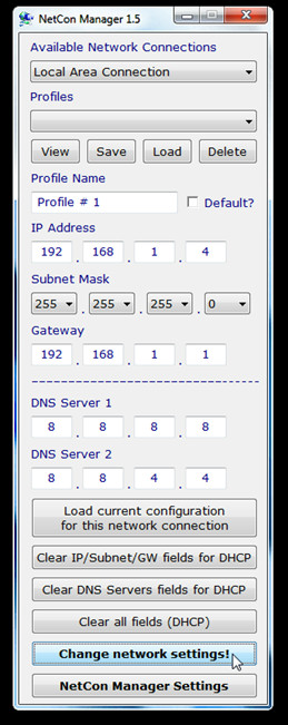 NetCon Manager 1.5
