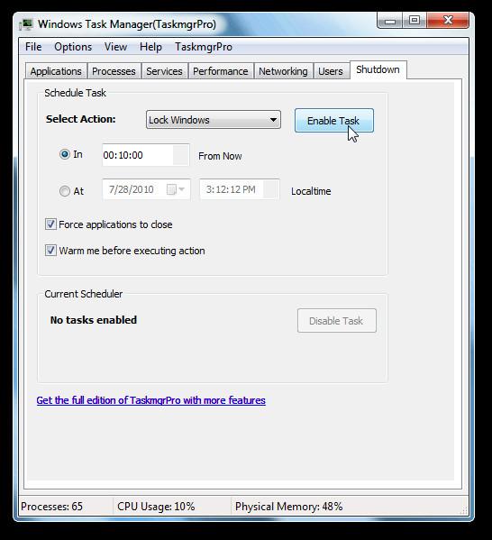 Windows Task Manager(TaskmgrPro)
