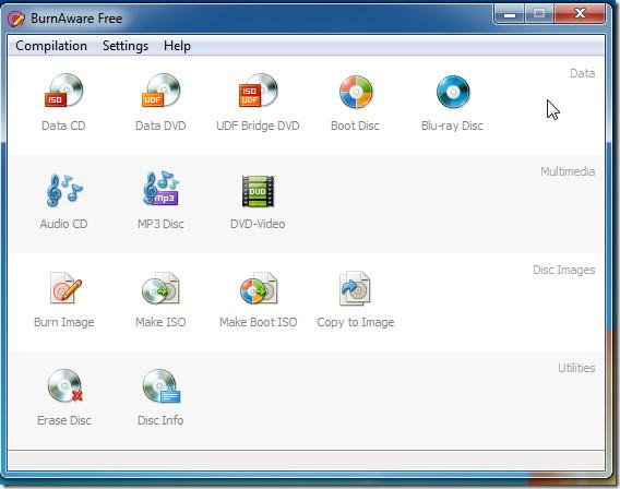 burnaware interface