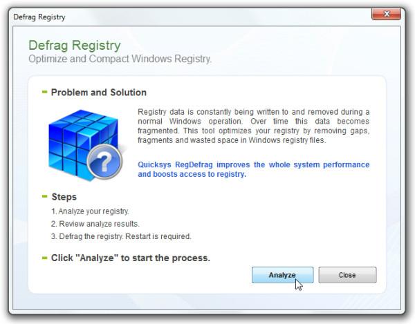 Defrag Registry1