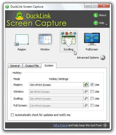 DuckLink Screen Capture