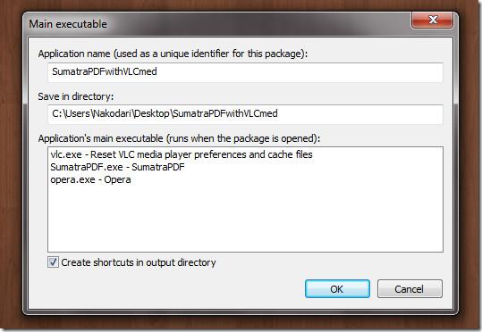 Main executable virtualization