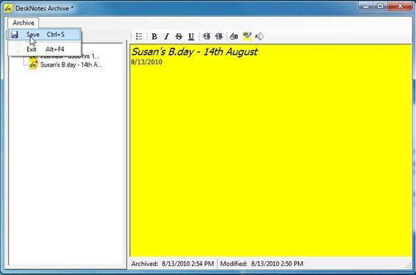 desknotes-archive