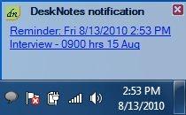 desknotes-notificaiton