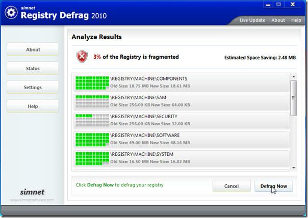 registry-defrag
