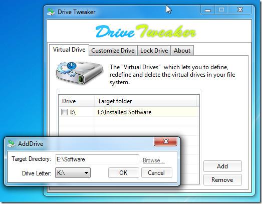 drive tweaker virtual drive