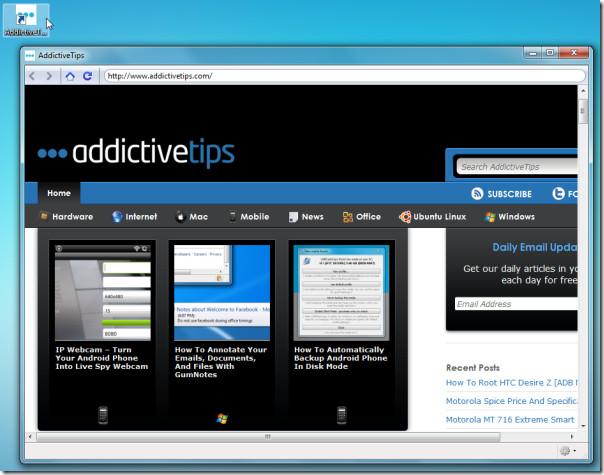 addictive web application