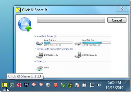 click share