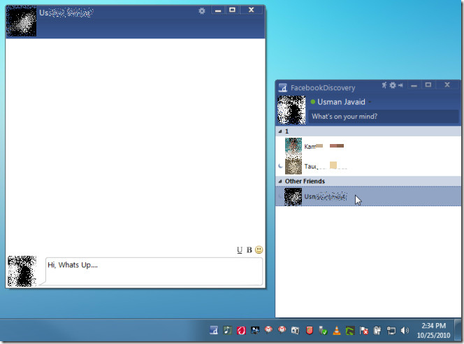 facebook discovery-chat