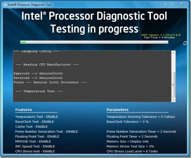 intel test - 1