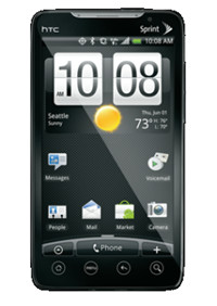 HTC Evo 4G Gingerbread