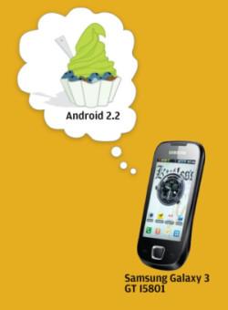 Samsung Galaxy 3 FroYo