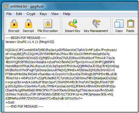 encrypt text 2
