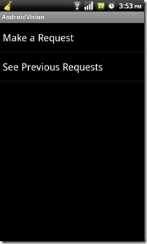 AndroidVision TV Requests