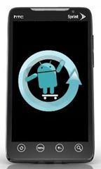 Evo 4G CyanogenMod 7 Nightly