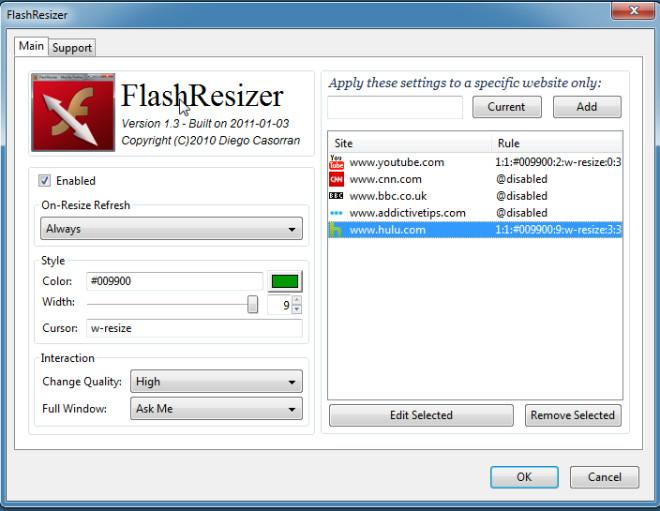 Flash Resizer