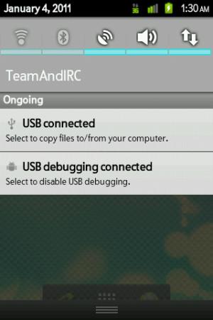 HTC Droid Eris Gingerbread CyanogenMod Theme