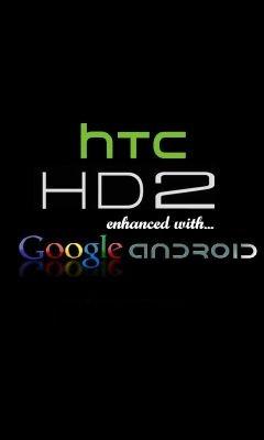 HTC HD2 Splash Screen Google Android