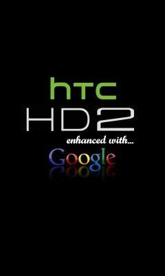 HTC HD2 Splash Screen Google
