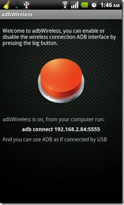 adbWireless Connected