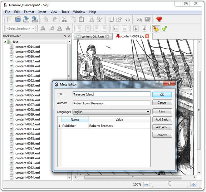 meta editor