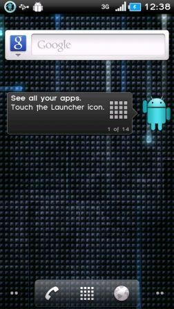 CyanogenMod 6.1.1 Xperia X10
