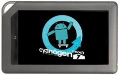 CyanogenMod 7 Nook Color