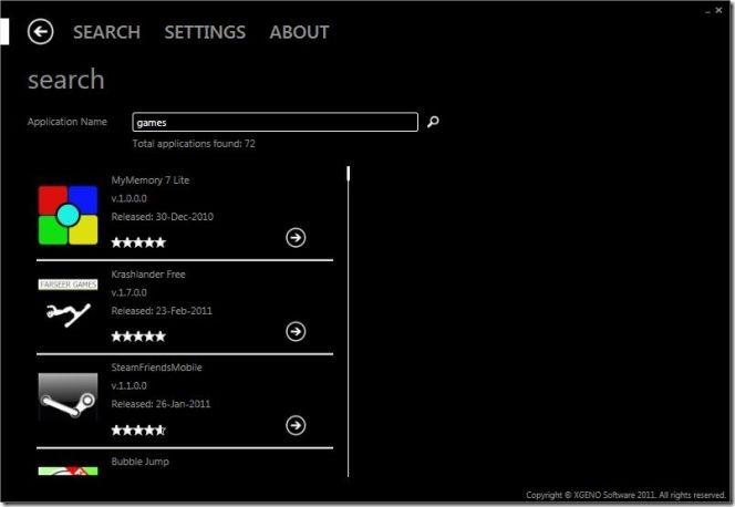 XGENO.WindowsMarketPlace