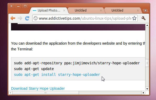 Apt -get URL